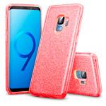 Чехол Yotrix BrightCase для Samsung Galaxy S9 (красный, гелевый)