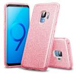 Чехол Yotrix BrightCase для Samsung Galaxy S9 (розовый, гелевый)