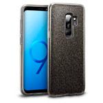 Чехол Yotrix BrightCase для Samsung Galaxy S9 plus (черный, гелевый)