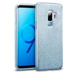 Чехол Yotrix BrightCase для Samsung Galaxy S9 plus (голубой, гелевый)