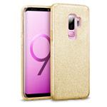 Чехол Yotrix BrightCase для Samsung Galaxy S9 plus (золотистый, гелевый)