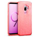 Чехол Yotrix BrightCase для Samsung Galaxy S9 plus (красный, гелевый)