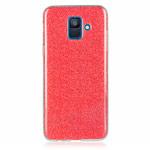 Чехол Yotrix BrightCase для Samsung Galaxy A8 2018 (красный, гелевый)