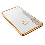 Чехол Yotrix GlitterSoft для Samsung Galaxy A8 star (розово-золотистый, гелевый)