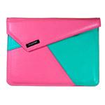 Чехол Discovery Buy Magic Cube Case для Apple iPad mini (розовый/зеленый, кожанный)