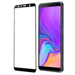 Защитное стекло Yotrix 3D Glass Protector для Samsung Galaxy A7 2018 (черное)