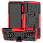 Чехол Yotrix Shockproof case для Samsung Galaxy A7 2018 (красный, пластиковый)