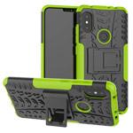 Чехол Yotrix Shockproof case для Xiaomi Redmi Note 6 (зеленый, пластиковый)