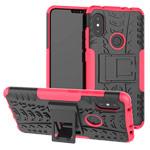 Чехол Yotrix Shockproof case для Xiaomi Redmi Note 6 (розовый, пластиковый)