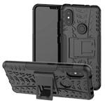 Чехол Yotrix Shockproof case для Xiaomi Redmi Note 6 (черный, пластиковый)