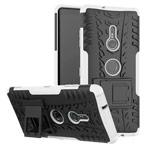 Чехол Yotrix Shockproof case для Sony Xperia XZ3 (белый, пластиковый)
