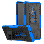 Чехол Yotrix Shockproof case для Sony Xperia XZ3 (синий, пластиковый)