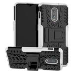 Чехол Yotrix Shockproof case для OnePlus 6T (белый, пластиковый)