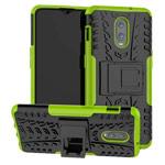 Чехол Yotrix Shockproof case для OnePlus 6T (зеленый, пластиковый)