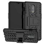 Чехол Yotrix Shockproof case для OnePlus 6T (черный, пластиковый)