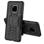 Чехол Yotrix Shockproof case для Huawei Mate 20 pro (черный, пластиковый)