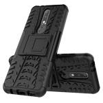 Чехол Yotrix Shockproof case для Nokia 7.1 plus (черный, пластиковый)