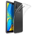 Чехол Yotrix UltrathinCase для Samsung Galaxy A7 2018 (прозрачный, гелевый)