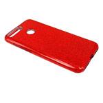 Чехол Yotrix BrightCase для Huawei Honor 7A (красный, гелевый)