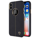 Чехол Nillkin Englon Leather Cover для Apple iPhone XS max (черный, кожаный)
