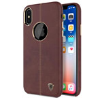 Чехол Nillkin Englon Leather Cover для Apple iPhone XS max (коричневый, кожаный)