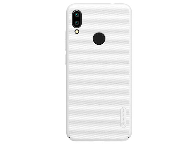 Чехол Nillkin Hard case для Xiaomi Redmi Note 7 (белый, пластиковый)