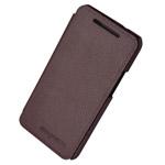 Чехол Discovery Buy City Elegant Case для HTC One 801e (HTC M7) (коричневый, кожанный)