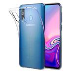 Чехол Yotrix UltrathinCase для Samsung Galaxy A8s (прозрачный, гелевый)