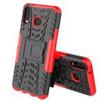 Чехол Yotrix Shockproof case для Samsung Galaxy A6s (красный, гелевый)