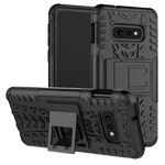 Чехол Yotrix Shockproof case для Samsung Galaxy S10 lite (черный, гелевый)
