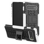 Чехол Yotrix Shockproof case для Samsung Galaxy S10 plus (белый, гелевый)