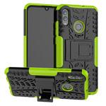 Чехол Yotrix Shockproof case для Huawei P smart 2019 (зеленый, гелевый)