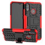 Чехол Yotrix Shockproof case для Huawei P smart 2019 (красный, гелевый)