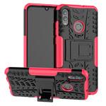 Чехол Yotrix Shockproof case для Huawei P smart 2019 (розовый, гелевый)