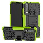 Чехол Yotrix Shockproof case для Huawei P30 (зеленый, гелевый)