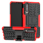 Чехол Yotrix Shockproof case для Huawei P30 (красный, гелевый)