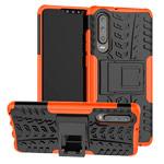 Чехол Yotrix Shockproof case для Huawei P30 (оранжевый, гелевый)
