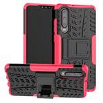 Чехол Yotrix Shockproof case для Huawei P30 (розовый, гелевый)