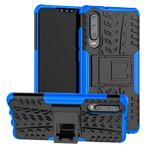 Чехол Yotrix Shockproof case для Huawei P30 (синий, гелевый)