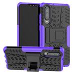 Чехол Yotrix Shockproof case для Huawei P30 (фиолетовый, гелевый)