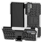 Чехол Yotrix Shockproof case для Huawei P30 pro (белый, гелевый)
