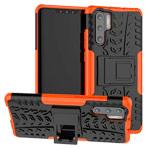 Чехол Yotrix Shockproof case для Huawei P30 pro (оранжевый, гелевый)
