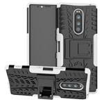 Чехол Yotrix Shockproof case для Sony Xperia 1 (белый, гелевый)