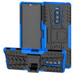 Чехол Yotrix Shockproof case для Sony Xperia 1 (синий, гелевый)
