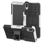 Чехол Yotrix Shockproof case для Sony Xperia L3 (белый, гелевый)