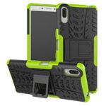 Чехол Yotrix Shockproof case для Sony Xperia L3 (зеленый, гелевый)