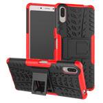 Чехол Yotrix Shockproof case для Sony Xperia L3 (красный, гелевый)