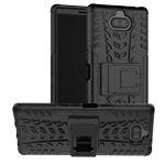 Чехол Yotrix Shockproof case для Sony Xperia 10 plus (черный, гелевый)