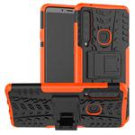 Чехол Yotrix Shockproof case для Samsung Galaxy A9 2018 (оранжевый, гелевый)