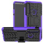 Чехол Yotrix Shockproof case для Samsung Galaxy A9 2018 (фиолетовый, гелевый)